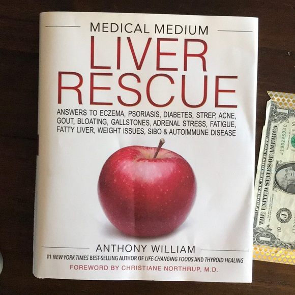 Liver Rescue book by Anthony William